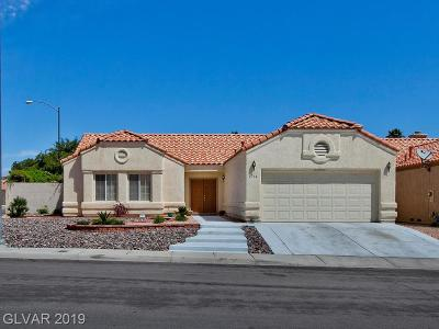 North Las Vegas Single Family Home For Sale: 4714 Silversword Avenue