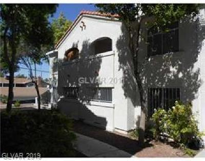 Las Vegas NV Condo/Townhouse For Sale: $100,000