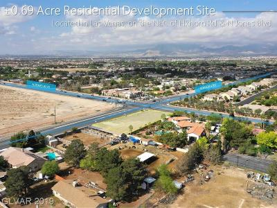Centennial Hills Residential Lots & Land For Sale: Jones Blvd