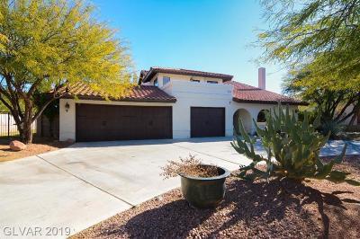 Las Vegas NV Single Family Home For Sale: $740,000