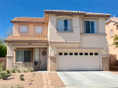 Las Vegas, Henderson Single Family Home For Sale: 309 Autumn Palace Court