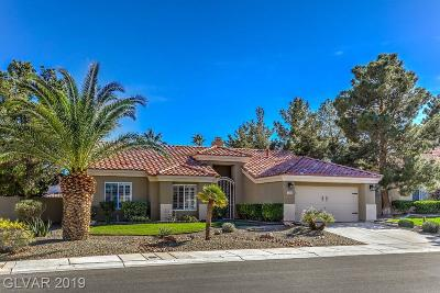 Las Vegas Single Family Home For Sale: 8201 Divernon Avenue