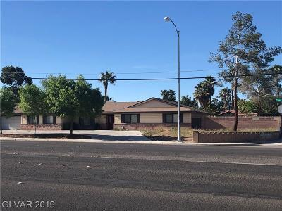 Las Vegas Single Family Home For Sale: 6338 W Desert Inn Rd Road