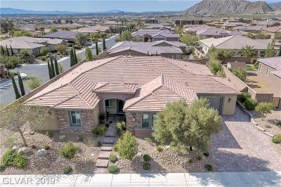 Las Vegas Single Family Home For Sale: 9693 Serene Star Way