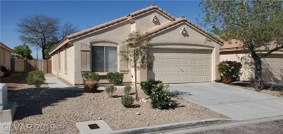Las Vegas Single Family Home For Sale: 4972 Perrone Avenue