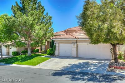 Las Vegas Single Family Home For Sale: 10221 Crystal Arch Avenue