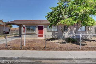 North Las Vegas Single Family Home For Sale: 2036 Carver Avenue