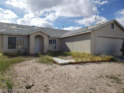 North Las Vegas Single Family Home Under Contract - No Show: 2141 Rejoice Drive