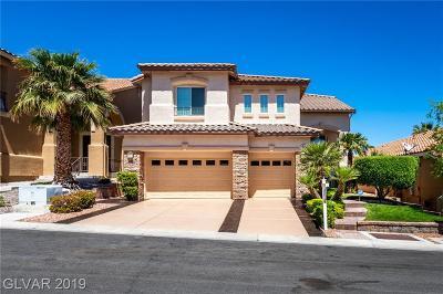 Las Vegas Single Family Home For Sale: 10712 Royal Pine Avenue