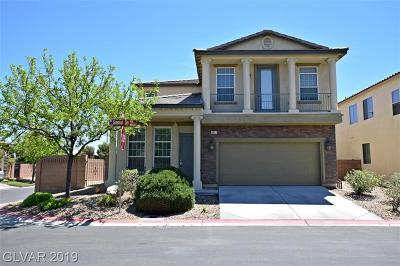 Las Vegas Single Family Home For Sale: 4817 Savannah Sky Avenue