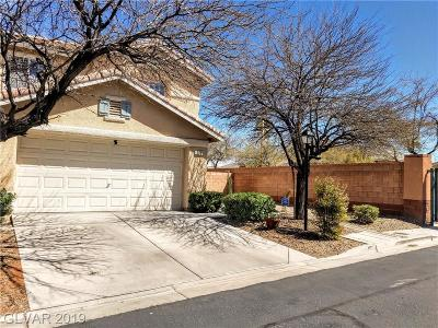 Las Vegas Single Family Home For Sale: 588 Poplar Leaf Street
