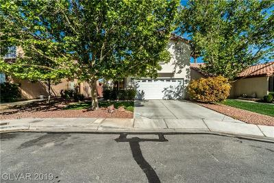 Las Vegas Single Family Home For Sale: 3512 Summerday Court