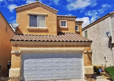 North Las Vegas Single Family Home For Sale: 2614 Respectful Court