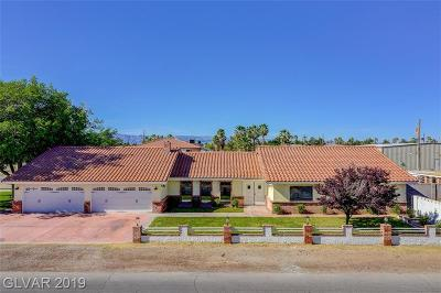 Las Vegas Single Family Home For Sale: 3200 Aloha Avenue