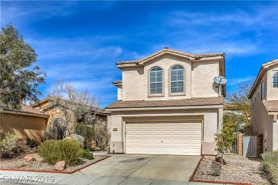 Las Vegas NV Single Family Home Under Contract - Show: $319,900