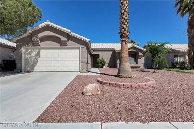 North Las Vegas Single Family Home For Sale: 5012 North Crystal Breeze Lane