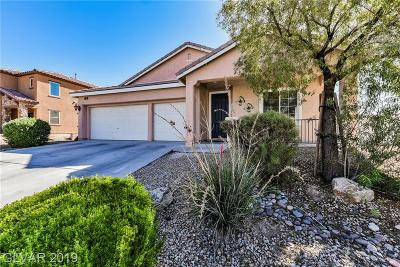 North Las Vegas NV Single Family Home Under Contract - No Show: $279,000