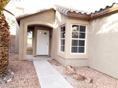 Las Vegas Single Family Home For Sale: 7206 Galley Drive