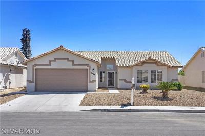 North Las Vegas Single Family Home For Sale: 4346 Valley Royal Drive