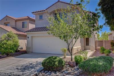 Las Vegas Single Family Home For Sale: 7608 Lookout Hill Street