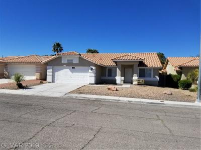 North Las Vegas Single Family Home For Sale: 1220 Hickory Grove Circle
