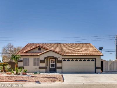 North Las Vegas Single Family Home For Sale: 3405 Penthouse Place