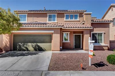 North Las Vegas Single Family Home Under Contract - No Show: 4044 Recktenwall Avenue