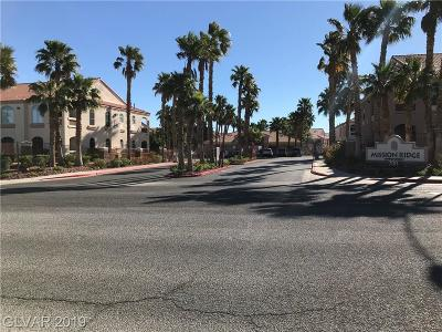 Las Vegas, Henderson Condo/Townhouse Under Contract - Show: 700 Carnegie Street #1822