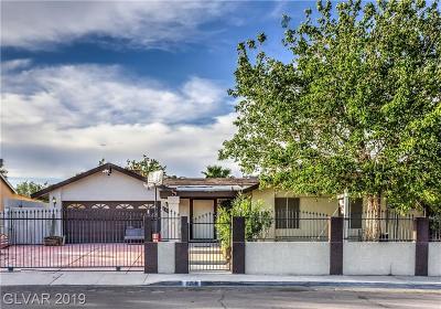 Las Vegas Single Family Home For Sale: 5206 Varsity Avenue
