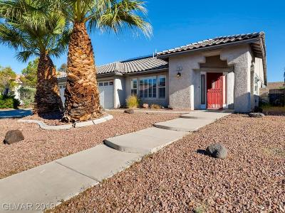 Henderson Single Family Home For Sale: 816 Singing Drum Drive
