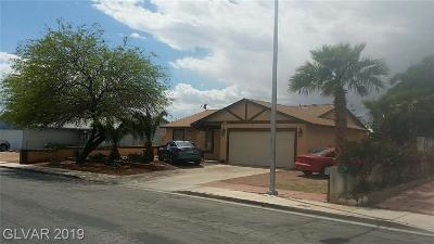 Las Vegas Single Family Home For Sale: 1471 Rock Island Lane