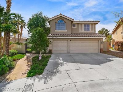 Las Vegas Single Family Home For Sale: 2404 Juniper Canyon Court
