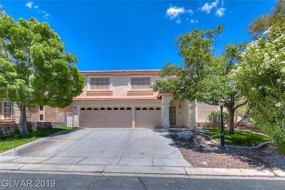 Las Vegas Single Family Home For Sale: 8304 Mountain Heather Court