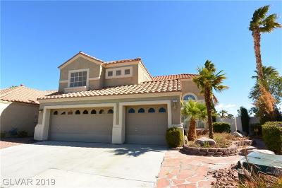 Single Family Home For Sale: 7448 Desert Flame Court