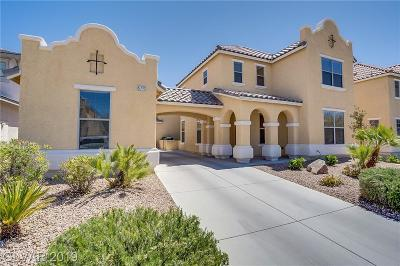 North Las Vegas Single Family Home For Sale: 5712 Mammoth Mountain Street