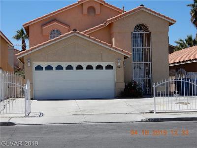 Las Vegas Single Family Home For Sale: 2308 Stockton Avenue