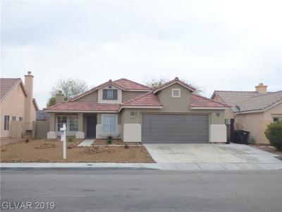North Las Vegas Single Family Home For Sale: 4720 Colombine Drive