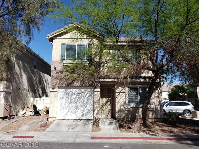 Las Vegas NV Single Family Home For Sale: $210,000