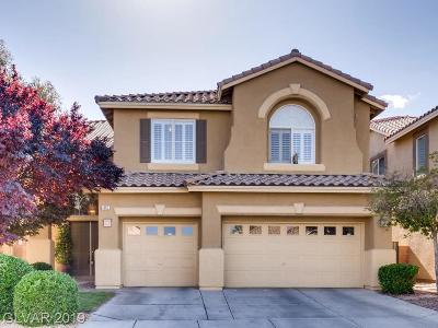 Las Vegas Single Family Home For Sale: 413 Bloomingdale Court