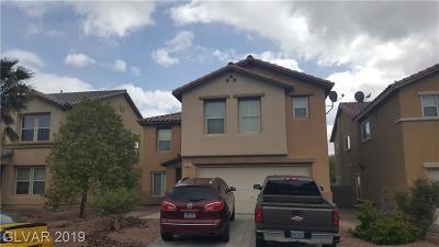 North Las Vegas Single Family Home For Sale: 5312 Franklin Grove Street