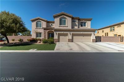 Las Vegas Single Family Home For Sale: 6256 Mell Cave Court