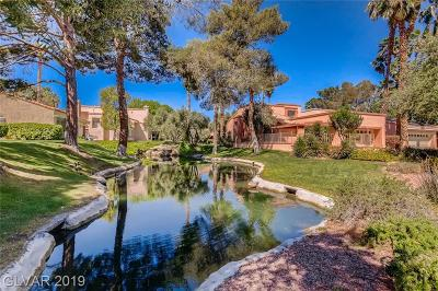 Las Vegas Single Family Home For Sale: 5475 Pepperbrook Court