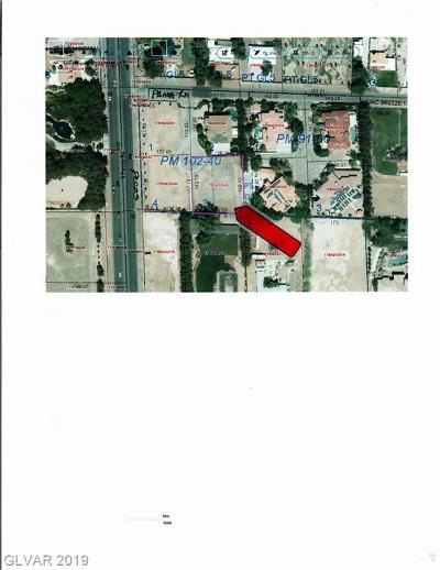 Las Vegas Residential Lots & Land For Sale: 3435 Pama Ln
