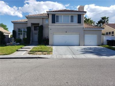 North Las Vegas Single Family Home For Sale: 1203 Crescent Moon Drive