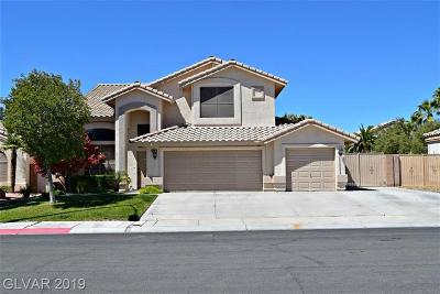 Las Vegas Single Family Home For Sale: 5533 Azure Ridge Drive