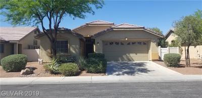 NORTH LAS VEGAS Single Family Home For Sale: 3220 Copper Sunset Avenue