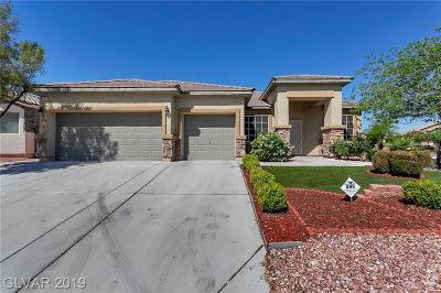 North Las Vegas Single Family Home For Sale: 4631 Mission Cantina Street