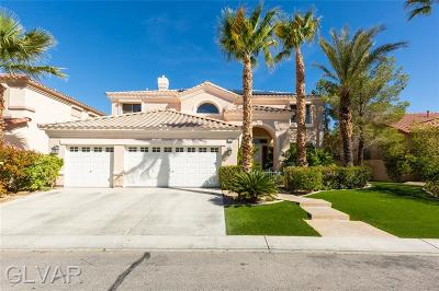 Las Vegas Single Family Home For Sale: 51 Sunshine Coast Lane