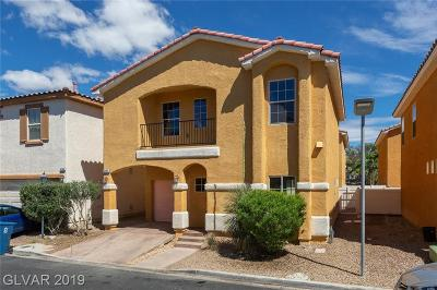Las Vegas Single Family Home For Sale: 5148 Bellaria Place