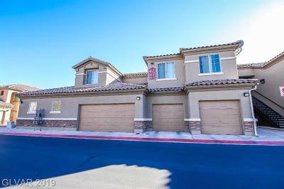 Las Vegas NV Condo/Townhouse For Sale: $175,000